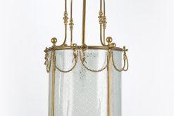 7162 - 19th Century Brass Lantern
