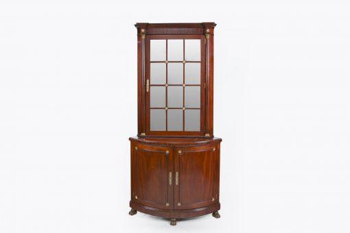 9638 - A Pair of Irish 19th Century Corner Cabinets