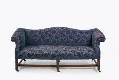 10093 - Early 19th Century Regency Gainsborough Camel Back Sofa